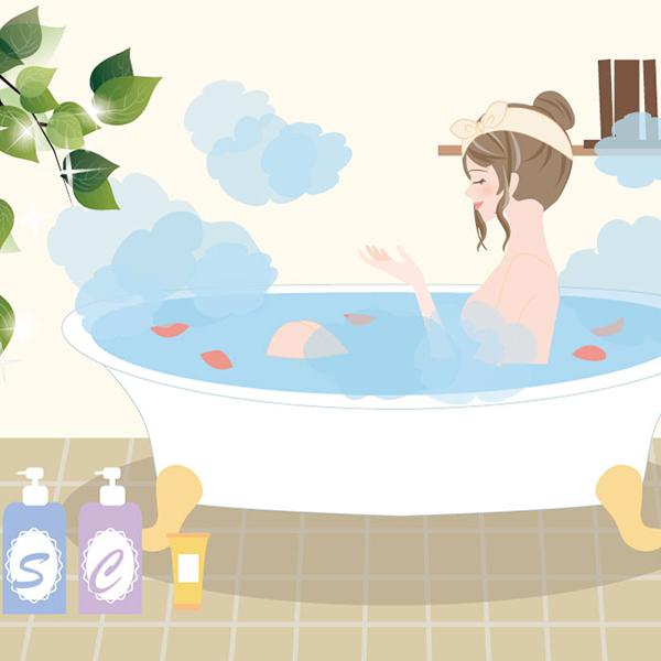 敏感肌や乾燥肌を徹底改善!お風呂でゆったりお肌ケア