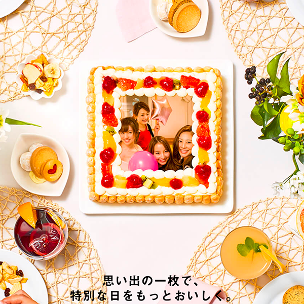 メディア掲載多数、写真ケーキの通販・宅配 ピクトケーキ